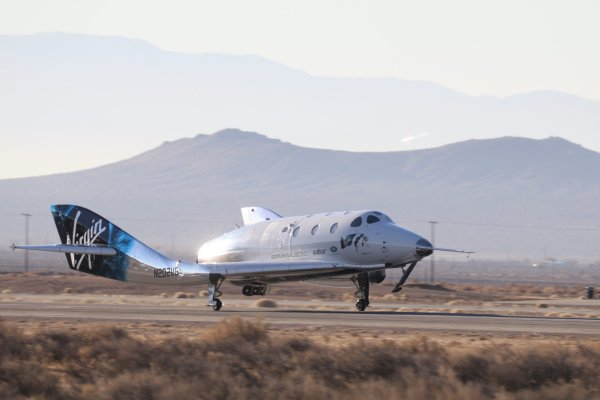 Virgin Galactic touches the edge of space with Mach 2.9 test flight of SpaceShipTwo