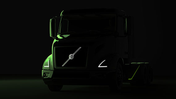Volvo Trucks Teases The All Electric Semi Truck It S Bringing To California In 2019