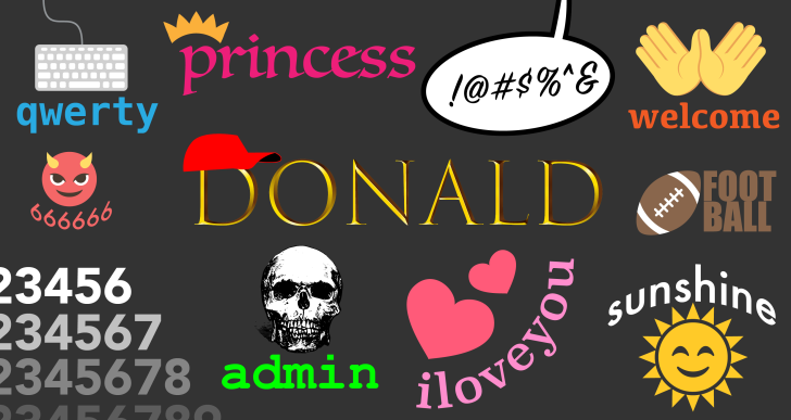 'donald' debuts at No. 23 on worst passwords of 2018 list worst passwords 2018