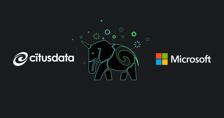 Microsoft acquires Citus Data