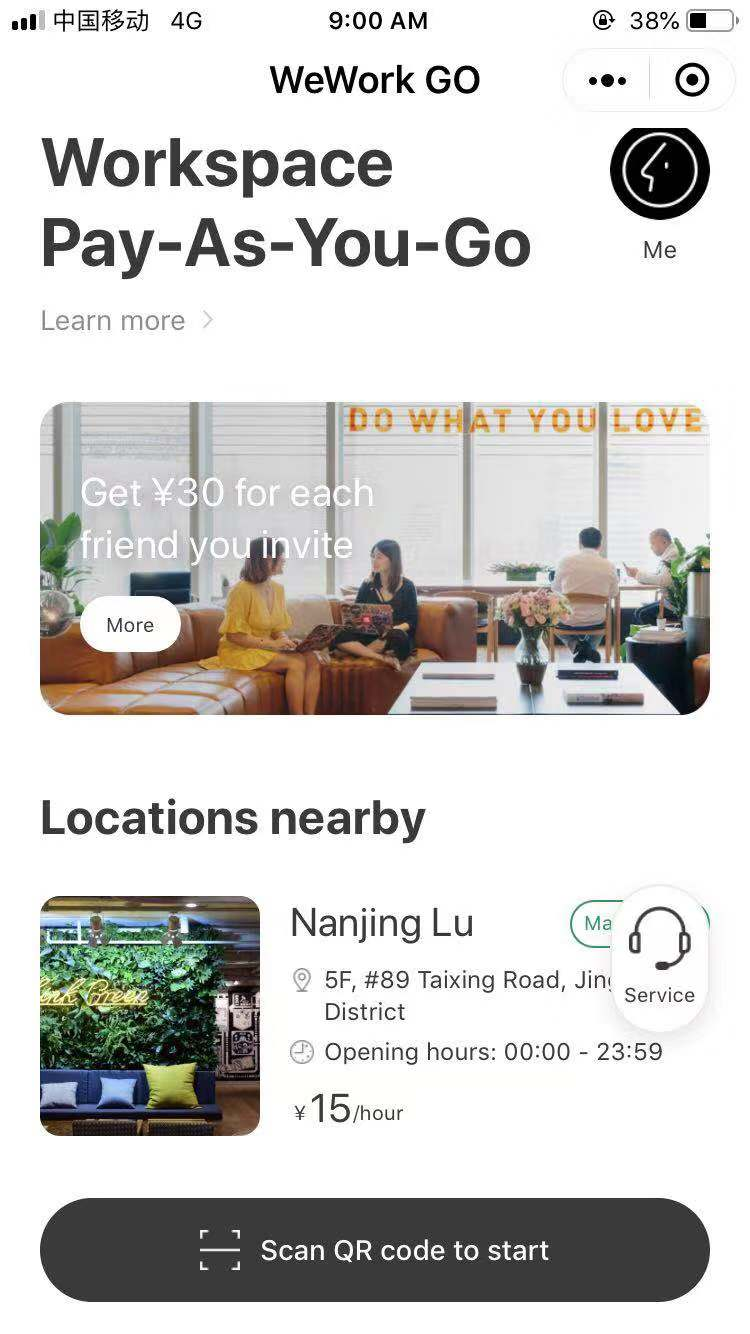 wework go china