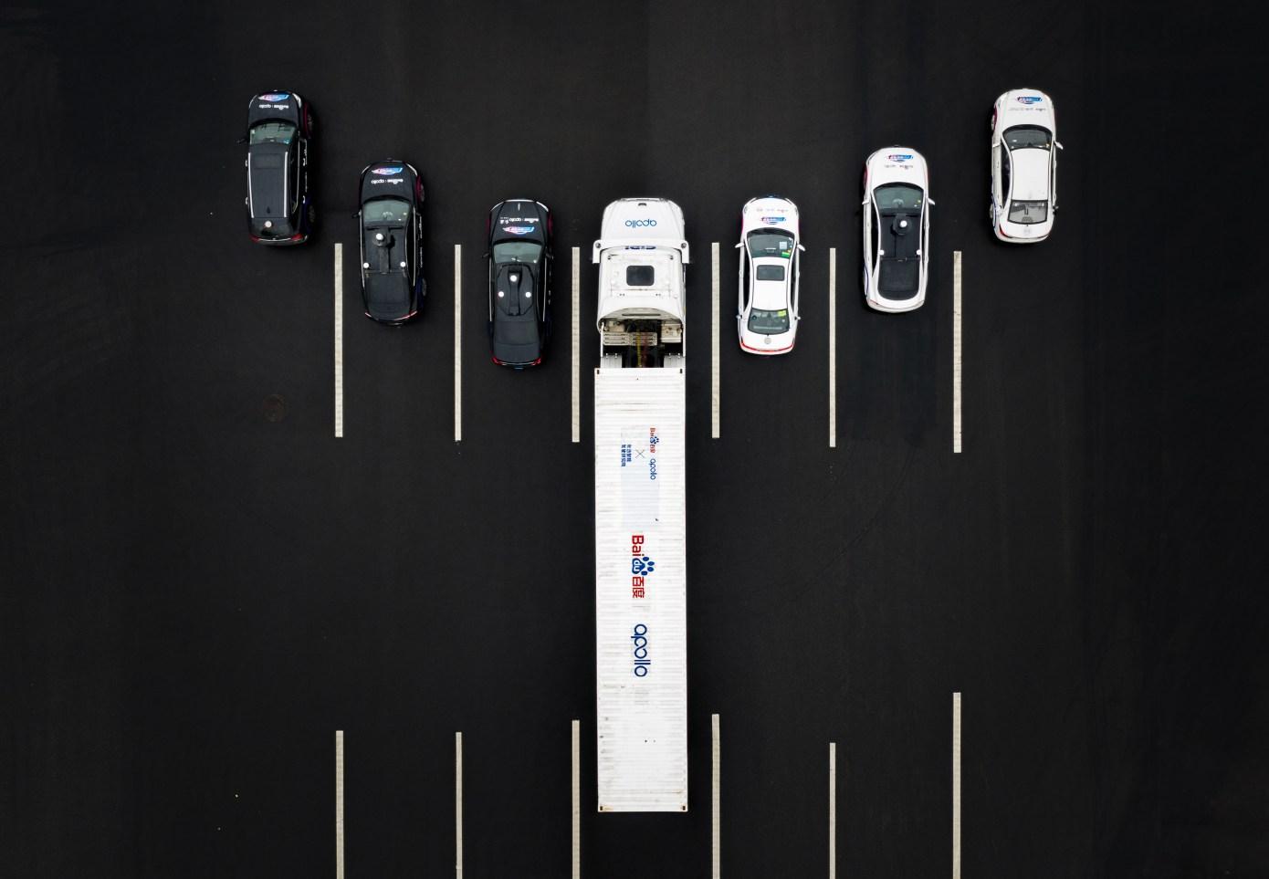 Baidu Fahrzeuge