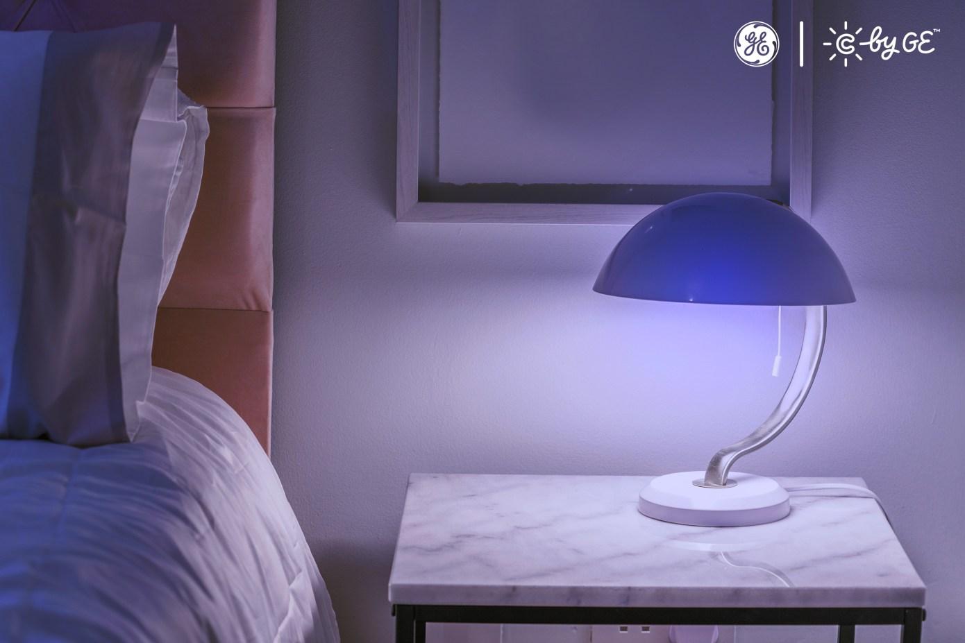GE Lampe auf der CES 2019
