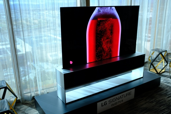 QnA VBage LG's ridiculous retractable TV takes a step closer to reality