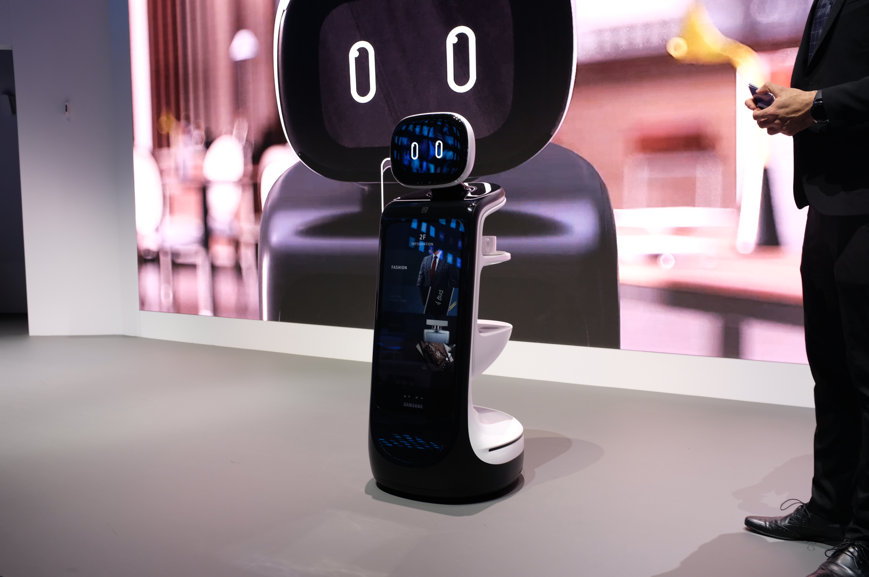 Is Samsung getting brooding about robotics?