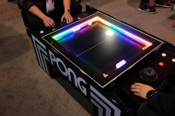 A Pong table managed to wow CES 2019 thumbnail