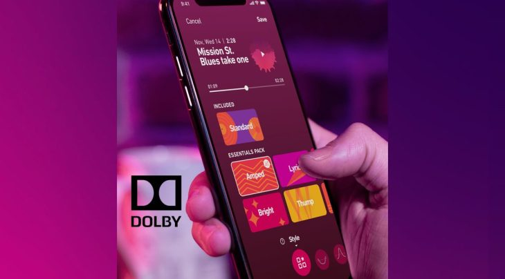 "Dolby quietly preps augmented audio recorder app ""234"
