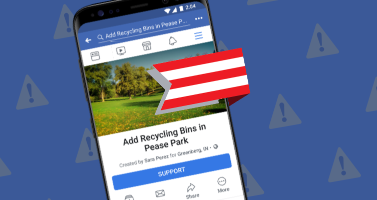 Facebook launches petition feature