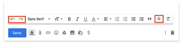 Gmail gets a strikethrough button