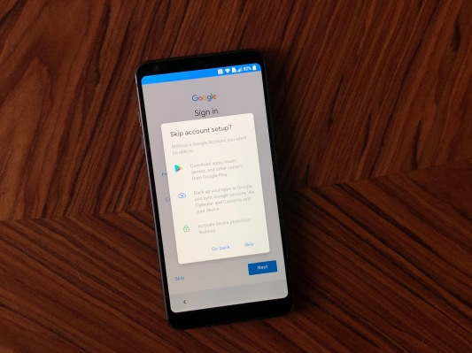 Google gdpr android onboarding