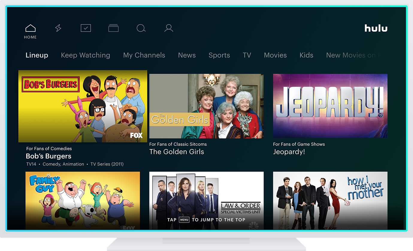 Hulu Redesign May Drop The Confusing Screen Called Lineup