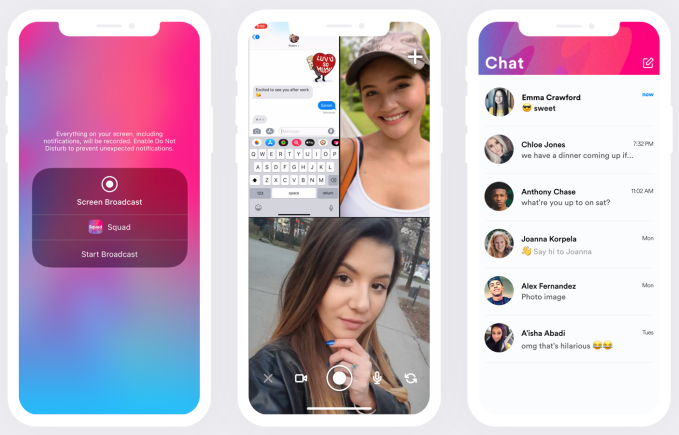 Squad is the new screensharing chat app everyone will copy | TechCrunch