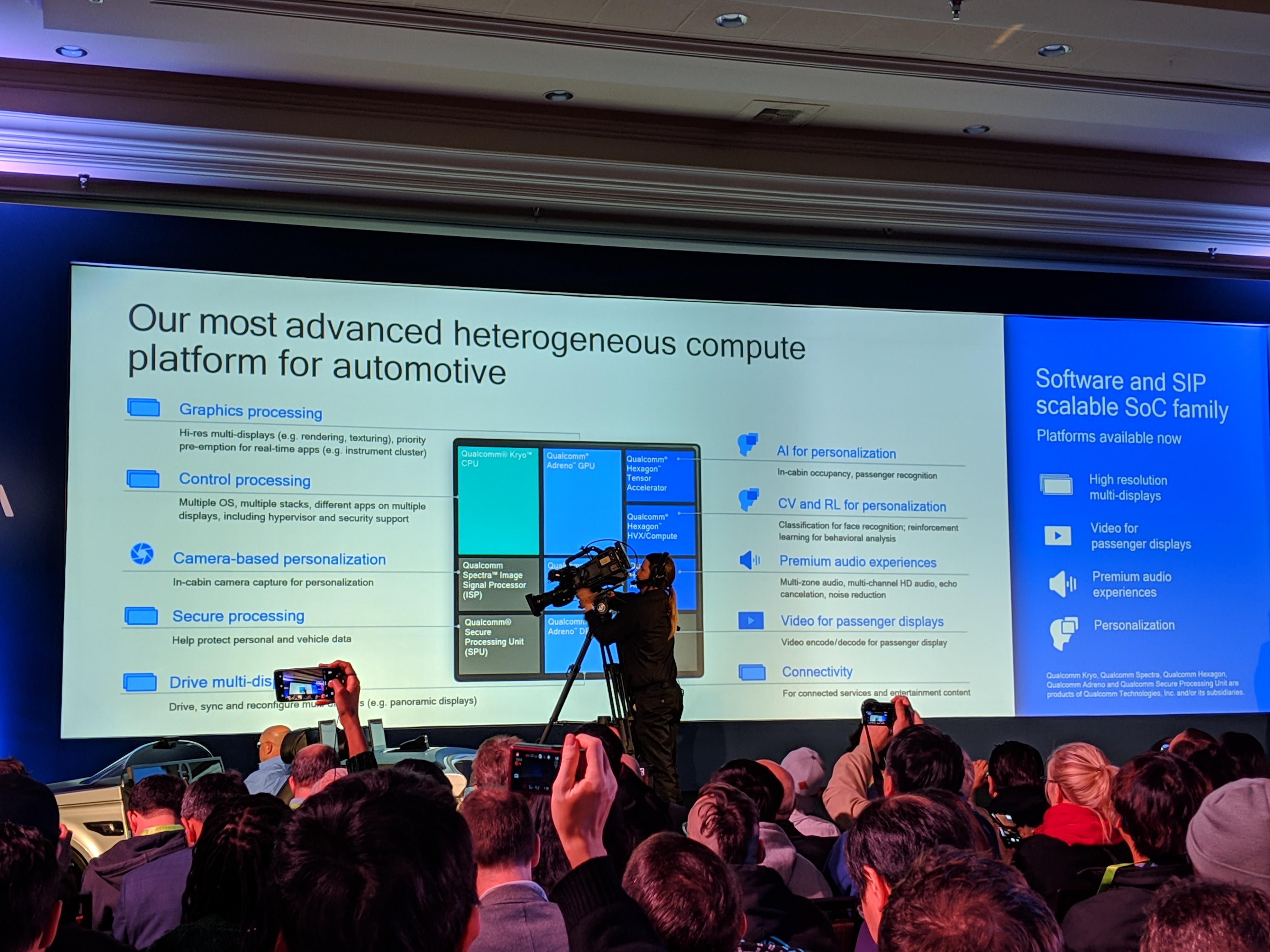 Qualcomm's Cockpit Platform promises to make cars smarter IMG 20190107 123100