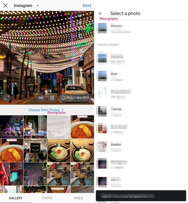 Instagram Import From Google Photos - Instagram now lets you regram your posts to multiple accounts