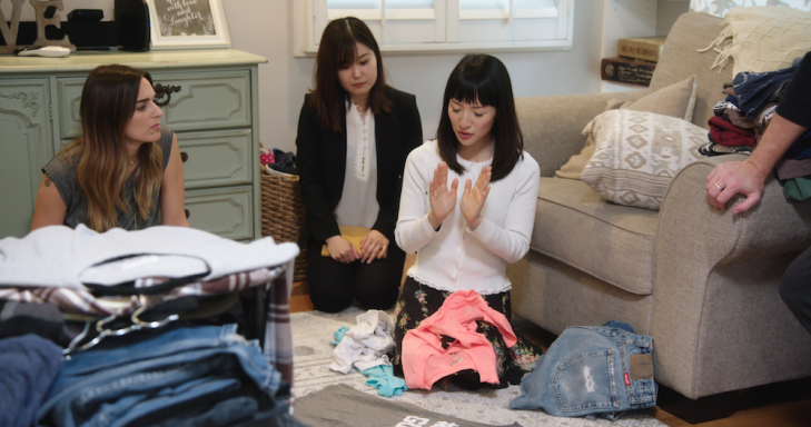 Original Content podcast: We conquer clutter with Marie Kondo's new show Kondo 101 08