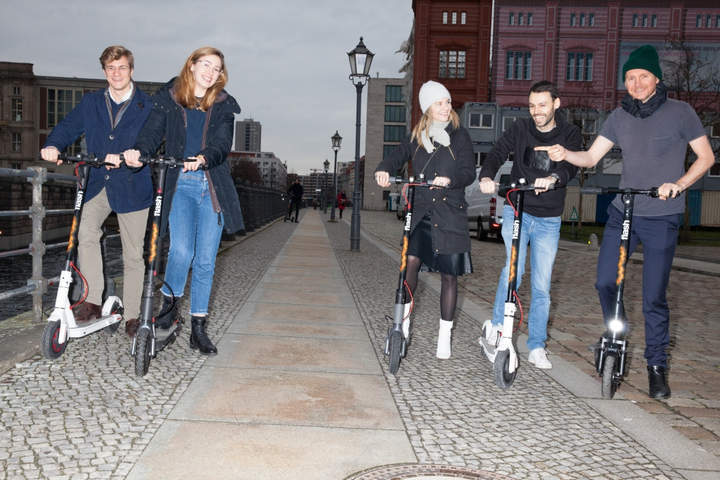 Flash, the stealthy e-scooter and 'micro-mobility' startup