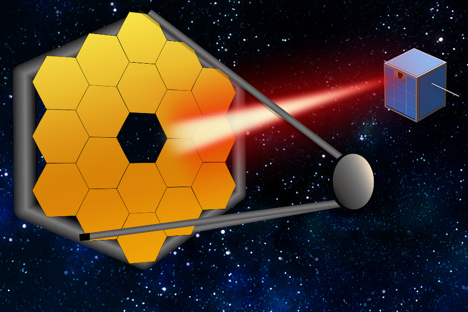 Swarms of tiny satellites could act like one giant space telescope MIT Guide Star