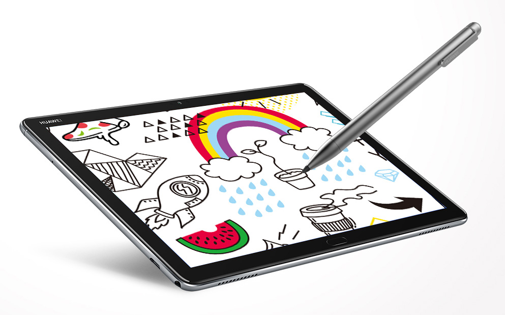 Huawei debuts a new laptop and tablet at CES MediaPad M5 lite with pen