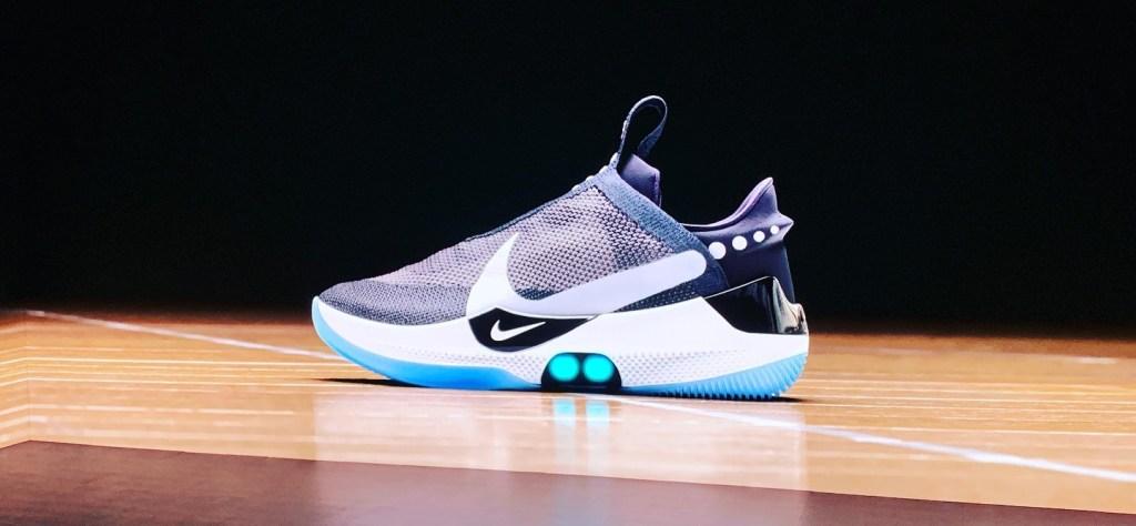 performance sportswear presenting online shop Nike's auto-laced future | TechCrunch