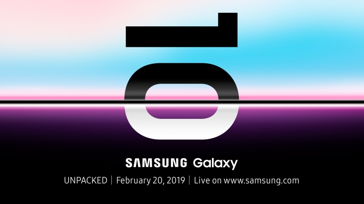 Samsung Galaxy UNPACKD 2019 Official Invitation 1920×1080