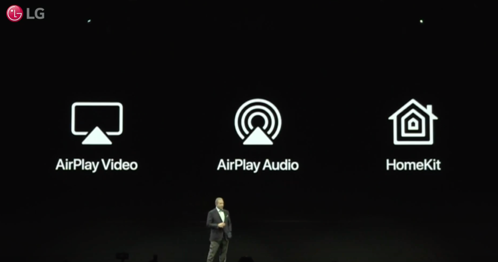LG is adding Apple AirPlay and HomeKit support to its TVs | TechCrunch
