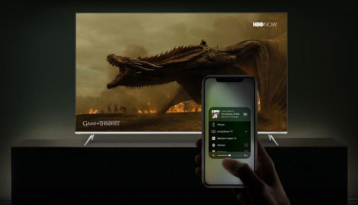 Vizio adds Apple AirPlay and HomeKit integrations to its SmartCast smart TV platform
