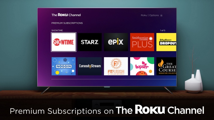 La Carte But.Roku S A La Carte Premium Subscriptions Arrive Today But