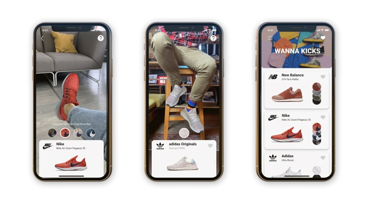 Emma Werkschoenen Dealers.Wanna Kicks A New Ar App From Wannaby Lets You Virtually Try On