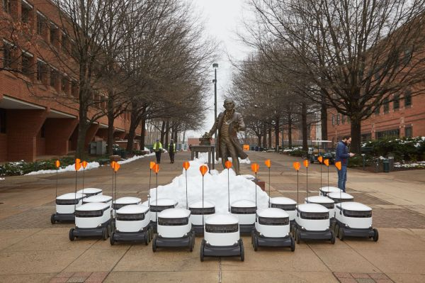 QnA VBage Starship deploys autonomous delivery bots on a college campus