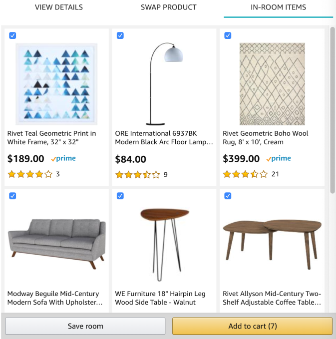 Amazon Debuts Showroom A Visual Shopping Experience For Home