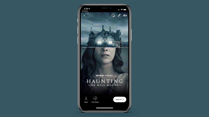 Image result for Netflix Now Lets iOS Users Share Movies, Shows to Instagram Stories