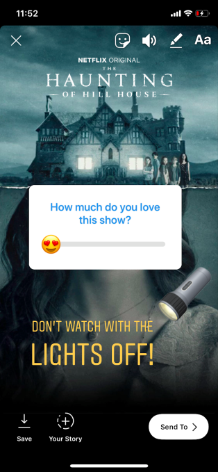 Netflix now lets you share a favorite title directly to Instagram Stories