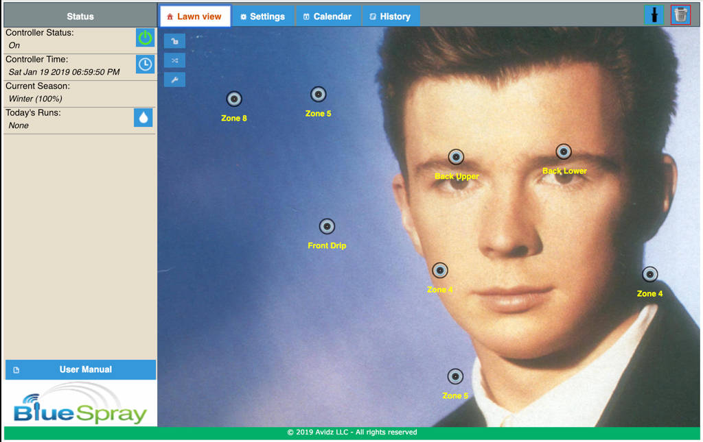 Shodan Safari, where hackers heckle the worst devices put on the internet rickroll