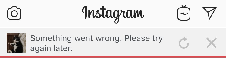 Instagram outage forces millions to look directly at the world for nearly half an hour