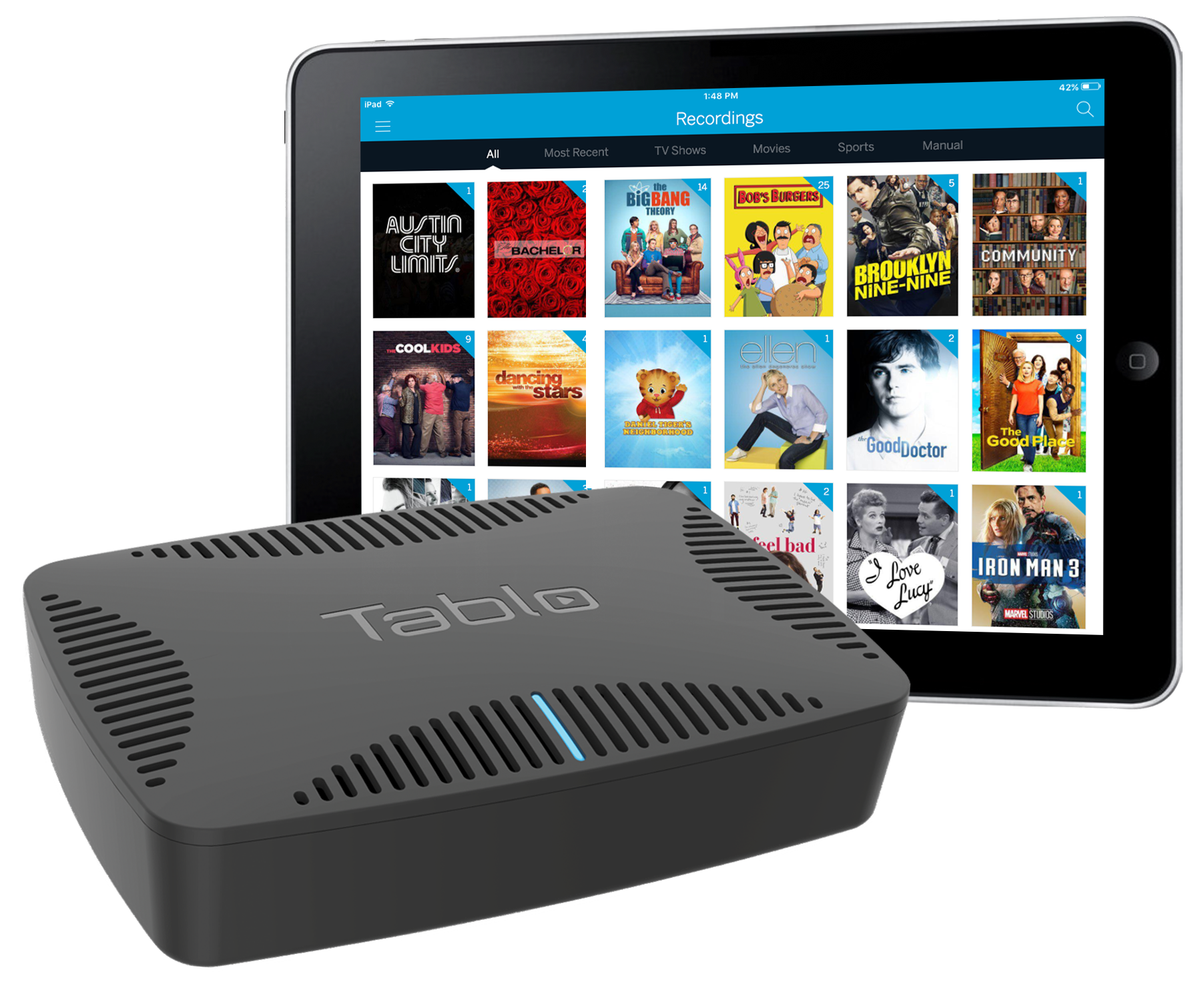 Tablo's new DVR for cord cutters skips the commercials for