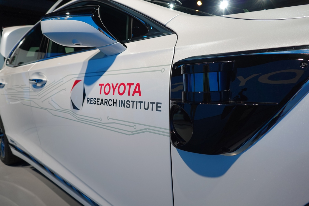 Toyota doubles down on Nvidia tech for self-driving cars