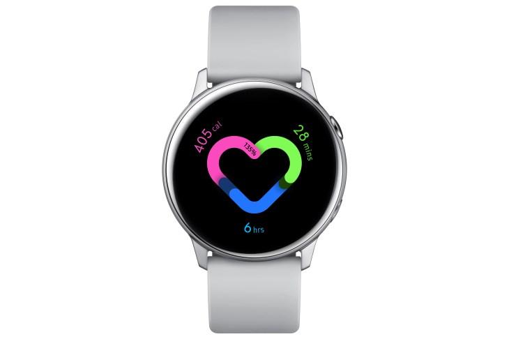 Samsung's new Galaxy Watch Active tracks blood pressure