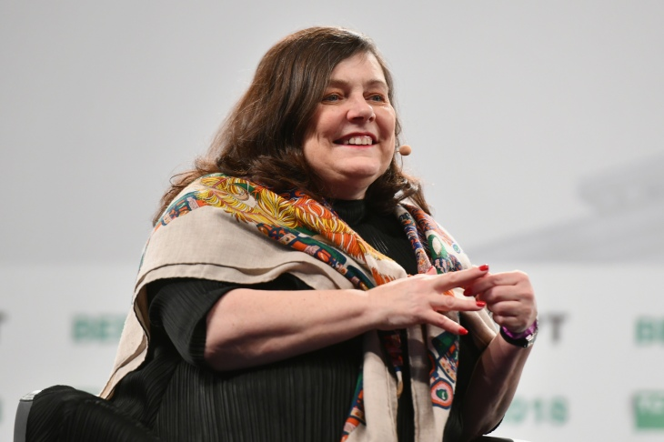 ace7d3390459a anne boden at disrupt. Starling Bank ...