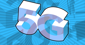 5G illustrated text