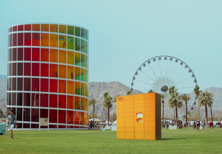 Amazon is bringing its delivery Lockers to Coachella