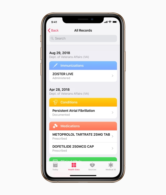 Apple partners with VA to bring Health Records to veterans