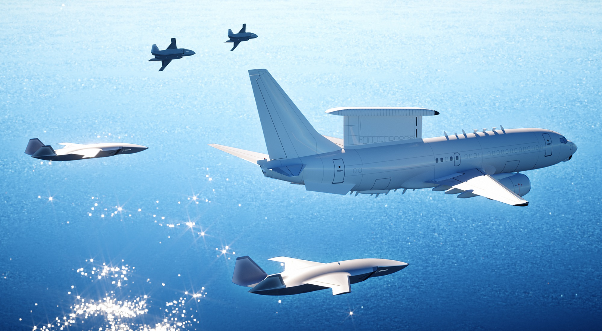 Boeing's 'Wingman' drone buddies up with pilot-flown jets