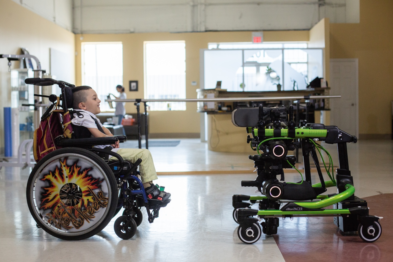 Helping children overcome their mobility challenges, Trexo Robotics