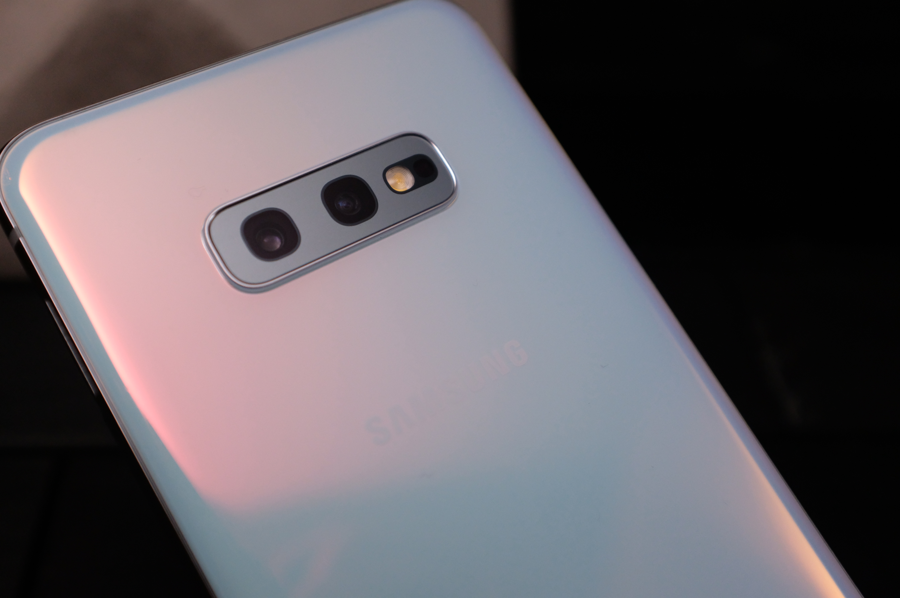 The Samsung S10's cameras get ultra-wide-angle lenses and