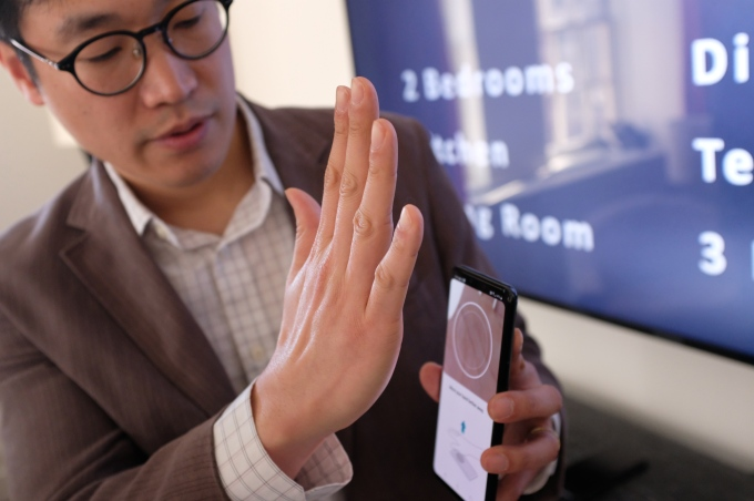 LG's latest flagship uses your hand veins to unlock