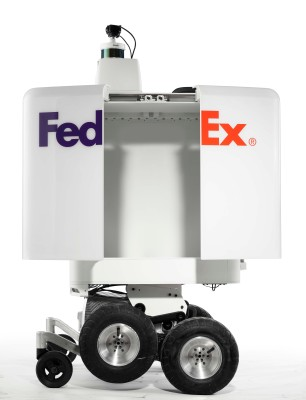 FedEx robot sent packing by NYC