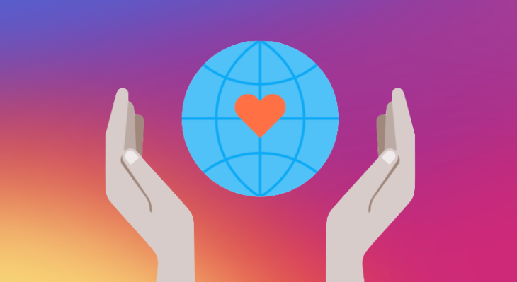 Instagram fundraisers