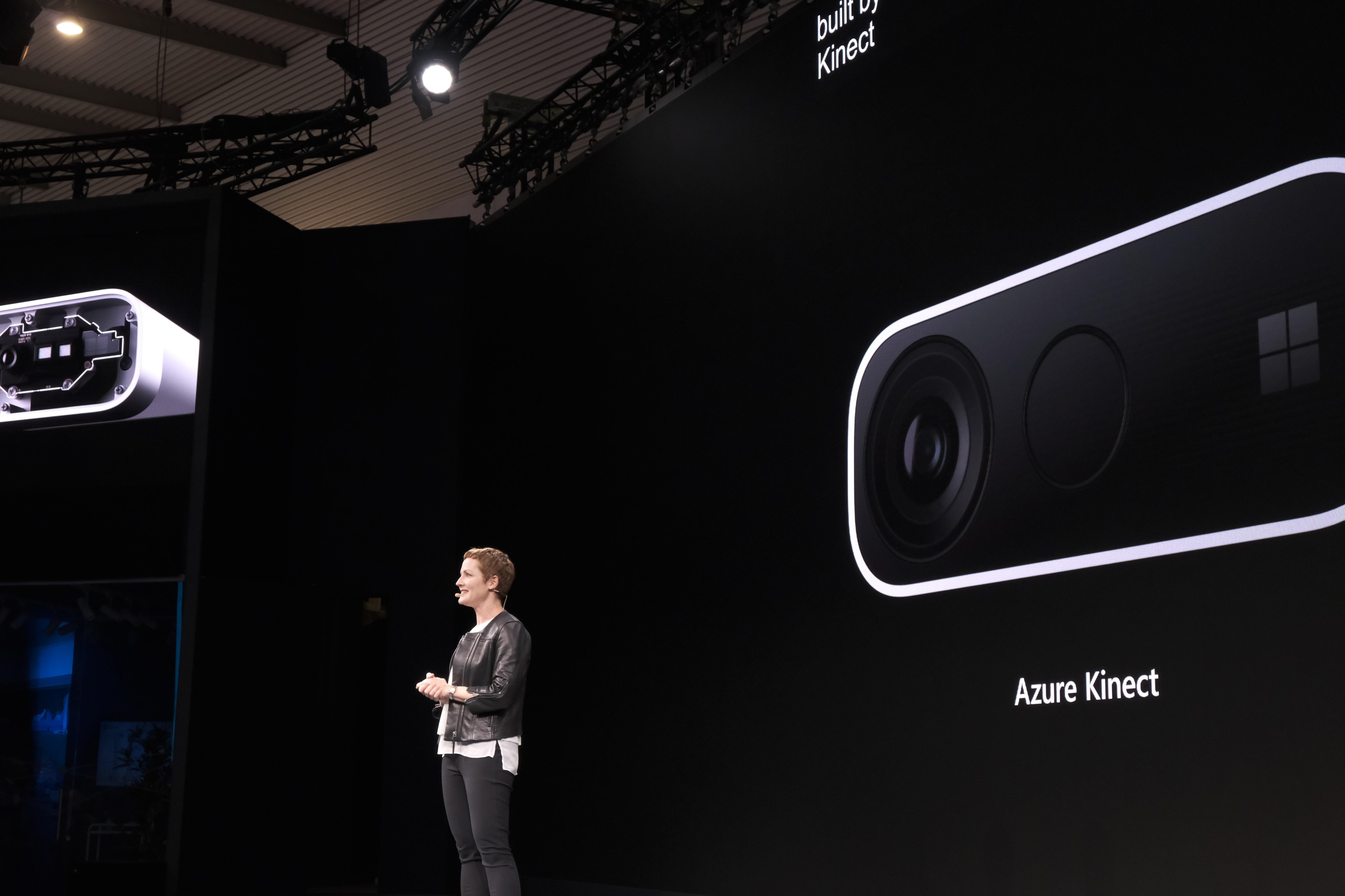 Microsoft announces an Azure-powered Kinect camera for enterprise