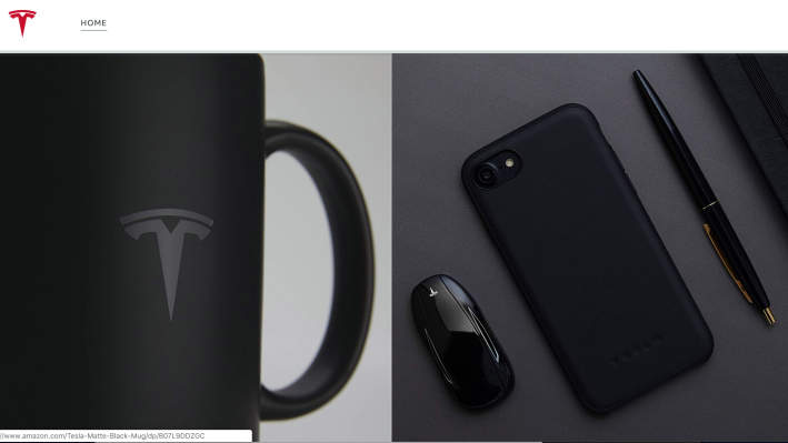 Tesla has opened an Amazon store to spread its swag far and wide Screen Shot 2019 02 05 at 4