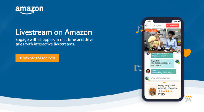 Amazon Live' is the retailer's latest effort to take on QVC